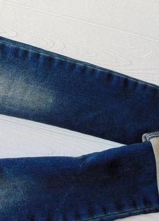 F&f. размер 9-10 лет. новые стрейчевые узкие джинсы для мальчика6 фото