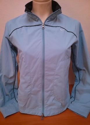 Легкая тонкая куртка# ветровка от nike, p. xs/s