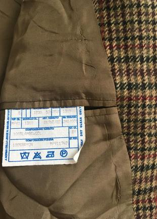 Стильный шерстяной пиджак5 фото