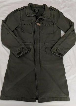 Куртка пальто alpha industries™ quartermaster field coat long m-65