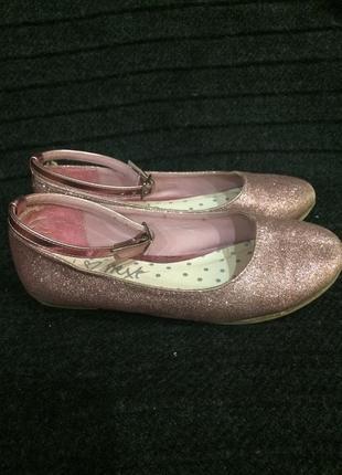Балетки туфли 28 р. 18 см.