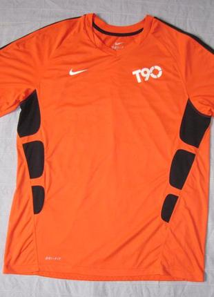 Nike total 90 (l) спортивная футболка мужская