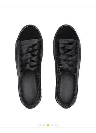 Кожаные кроссовки-кеды4 фото