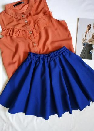Актуальная расклешенная юбка/ юбка-клеш / юбка-солнце