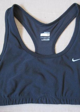 Nike fitdry (м) спортивный топ