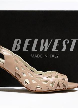 Босоножки belwest италия, оригинал. натуральная кожа.