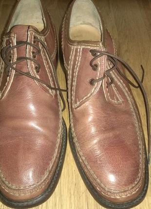 Стильные кожаные туфли lloyd, германия