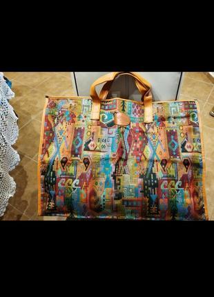 Дорожня сумка в стилі етно