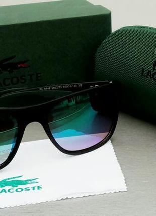 Lacoste очки мужские солнцезащитные зеркальные