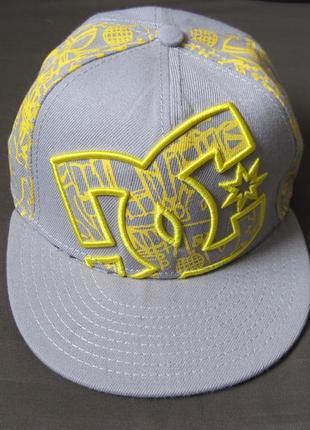 Dc (55 см) snapback кепка детская