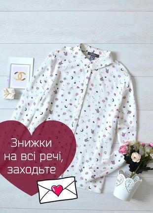 Стильна блуза в красивий прінт primark.