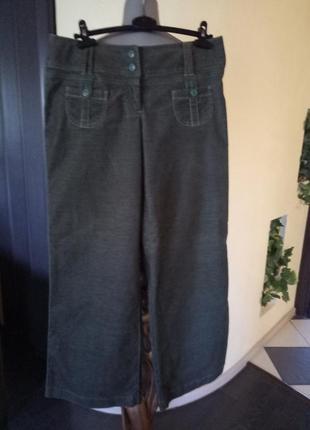 Брендовые стрейчевые кюлоты,широкие брюки скидка,качество