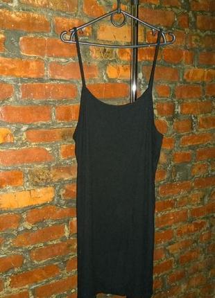 Платье майка в бельевом стиле h&m