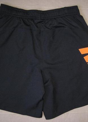 Nike dri-fit (147-158) спортивные футбольные шорты детские