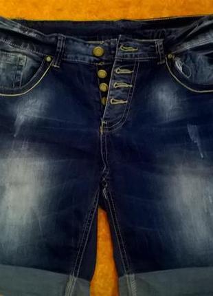 Шорты женские джинс