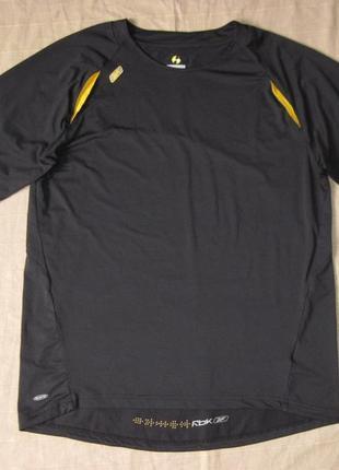 Reebok play dry (52/54) спортивная футболка мужская