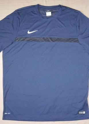 Nike dri-fit (xxl) спортивная футболка мужская