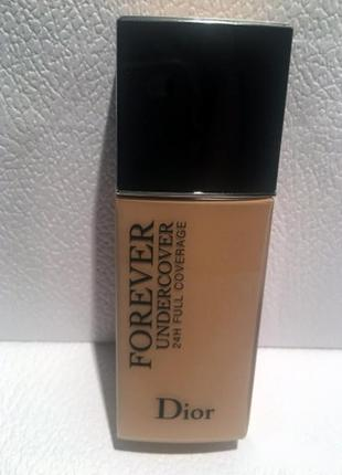 Тональная основа dior diorskin forever undercover 24h full coverage water-based foundation