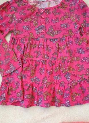 Big sale! комплект набор реглан, платье, штаны лосины на 3-5 лет3 фото