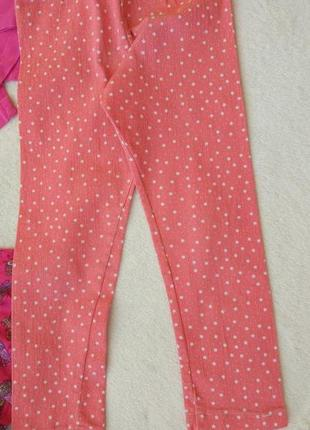 Big sale! комплект набор реглан, платье, штаны лосины на 3-5 лет5 фото