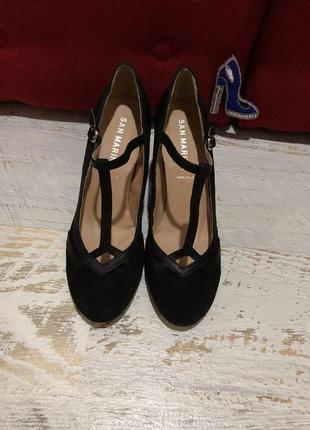 Туфлі із натуральної замші,від san marina3 фото