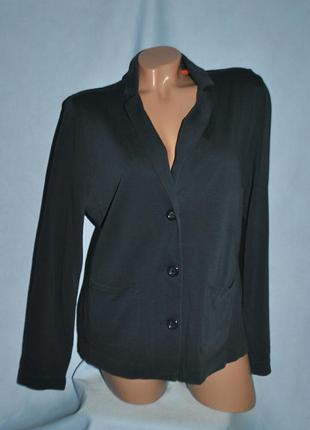 Стильный, трикотажный пиджак2 фото