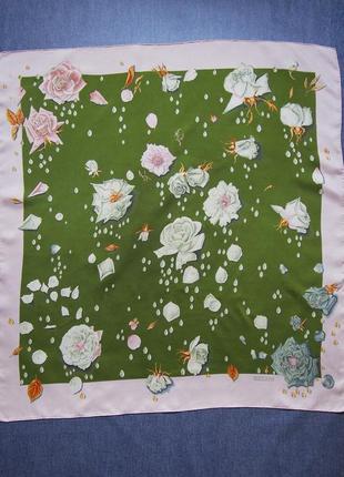 Коллекционный винтажный платок hermès carrés