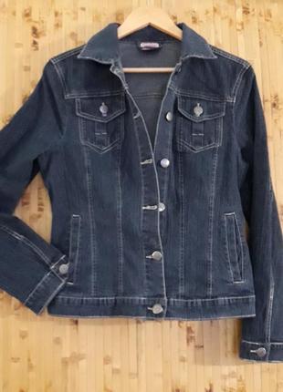Джинсовая куртка брендовая blue motion джинсовка пиджак