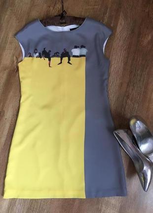 Милое и стильное платье love moschino l