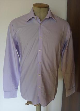 Мужские рубашка світло-лиловий розмір-40