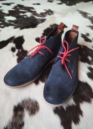 Кожаные ботинки marc o 'polo