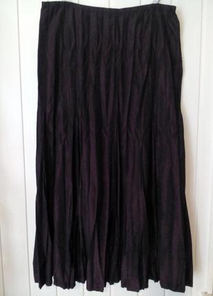 Супер красивая юбка плиссе макси от bonita