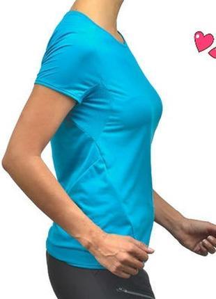 Лёгкая дышащая футболка для спорта, одежда для фитнеса