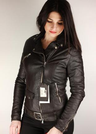 Итальянская кожаная куртка/косуха piero gabrieli