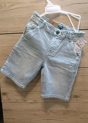Стильные полосатые шорты kiabi на 8 лет ❤️