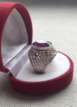 Серебро 875 пр. 7 гр. кольцо. ссср.