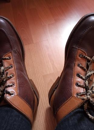 Брендовые,кожаные ботинки,полуботинки,39р,от германского бренда walker.