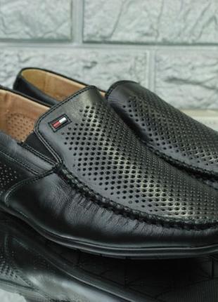 Классические мужские туфли на лето