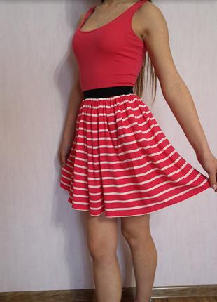 Сукня в полоску