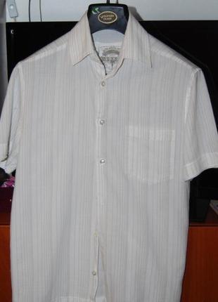 Чудесная натуральная льняная рубашка next