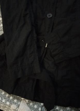 Ken черный плащ куртка пальто3 фото