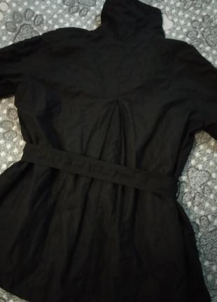 Ken черный плащ куртка пальто4 фото