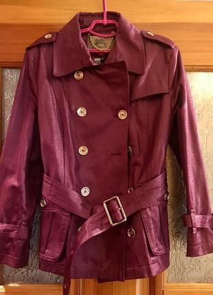 Тренч плащ ветровка жакет пиджак куртка burberry