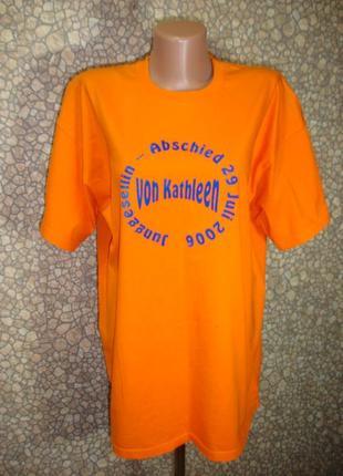 "Длинная футболка ""fruit of the loom"" марокко"