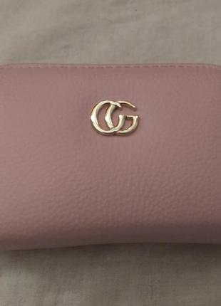 Удобный мини кошелек красивого розового цвета