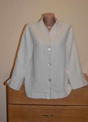 Жакет пиджак oska из льна
