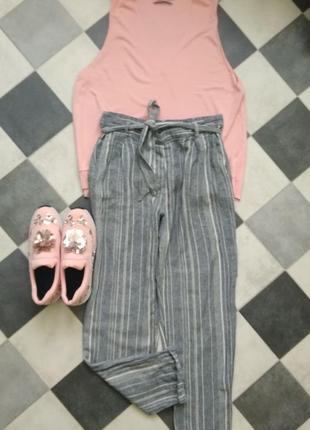 Стильные брюки в полоску от new look1 фото
