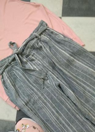 Стильные брюки в полоску от new look5 фото