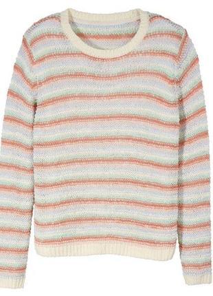 Женский летний пуловер из ленточной пряжи esmara германия, l (50/52) наш