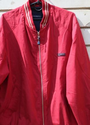 Куртка бомбер, ветровка 48-50 gilberto